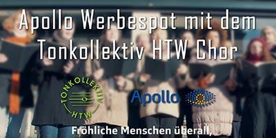 Apollo Werbespot mit dem Tonkollektiv HTW Chor