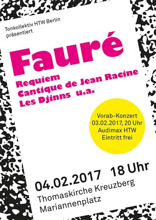 Fauré-Flyer Front