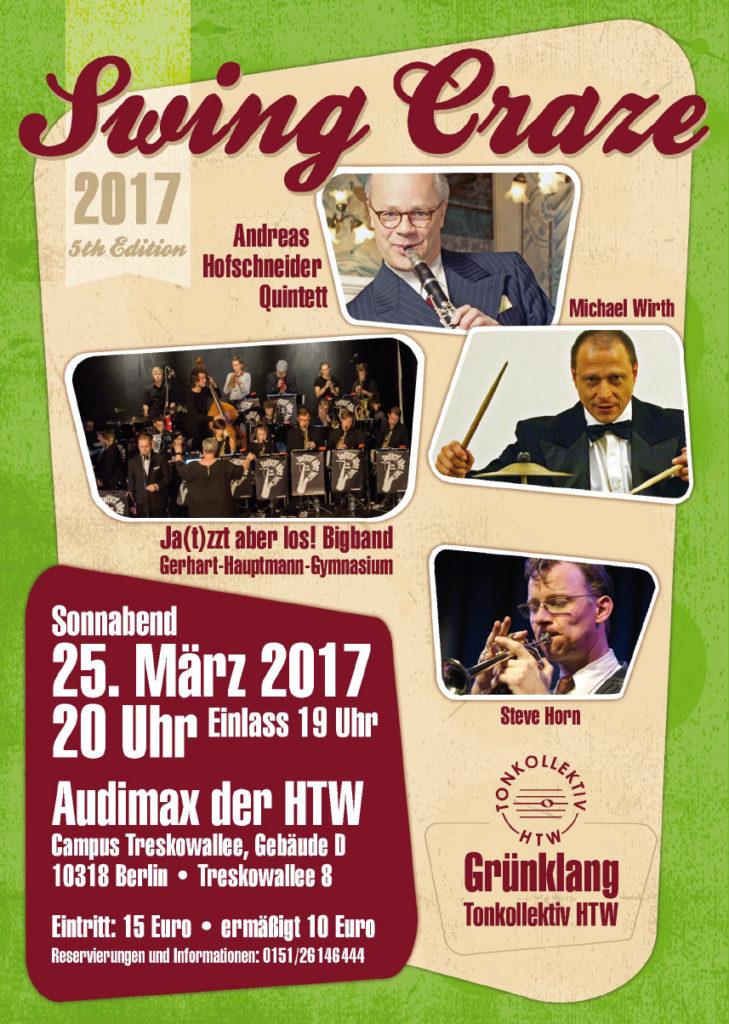 Swing Craze 2017 in Berlin mit Andreas Hofschneider