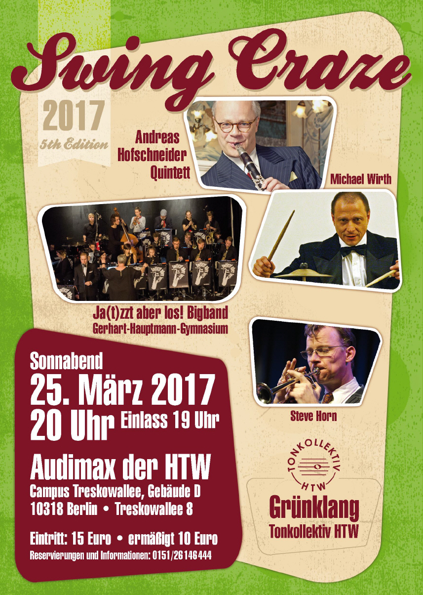 Swing Craze 2017 Flyer